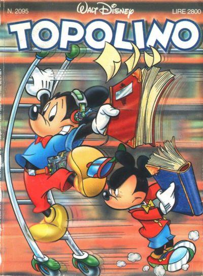 Cover for Topolino (The Walt Disney Company Italia, 1988 series) #2095