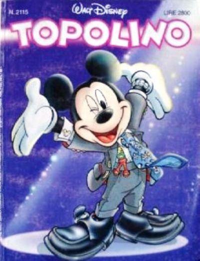 Cover for Topolino (The Walt Disney Company Italia, 1988 series) #2115