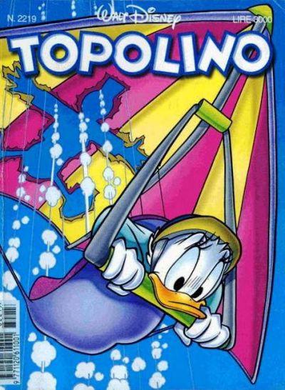 Cover for Topolino (The Walt Disney Company Italia, 1988 series) #2219