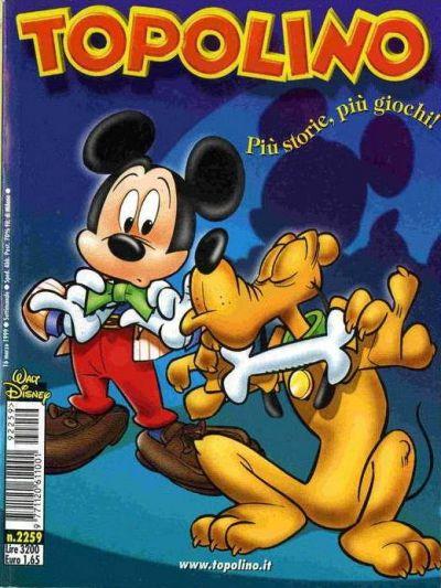 Cover for Topolino (The Walt Disney Company Italia, 1988 series) #2259