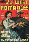 Cover for Real West Romances (Prize, 1949 series) #v1#2