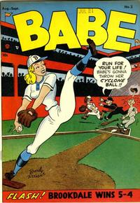 Cover for Babe (Prize, 1948 series) #v1#2 (2)