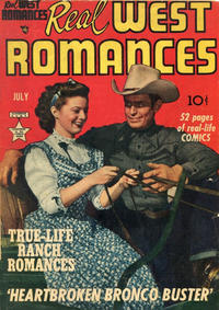 Cover Thumbnail for Real West Romances (Prize, 1949 series) #v1#2