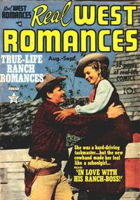 Cover Thumbnail for Real West Romances (Prize, 1949 series) #v1#3