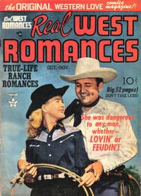Cover Thumbnail for Real West Romances (Prize, 1949 series) #v1#4