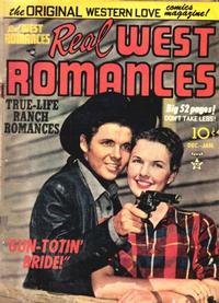 Cover Thumbnail for Real West Romances (Prize, 1949 series) #v1#5