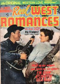 Cover Thumbnail for Real West Romances (Prize, 1949 series) #v1#6