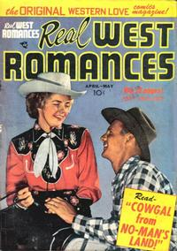 Cover Thumbnail for Real West Romances (Prize, 1949 series) #v2#1