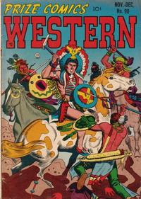 Cover Thumbnail for Prize Comics Western (Prize, 1948 series) #v10#5 (90)