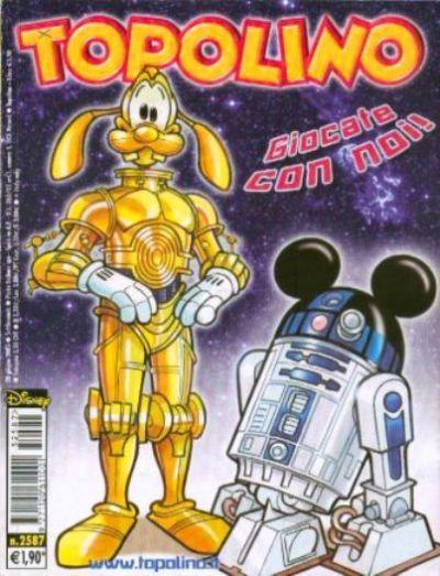 Cover for Topolino (The Walt Disney Company Italia, 1988 series) #2587