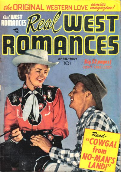 Cover for Real West Romances (Prize, 1949 series) #v2#1