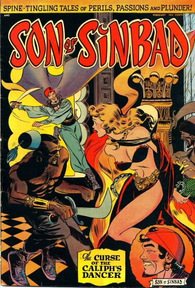 Cover for Son of Sinbad (St. John, 1950 series) #1