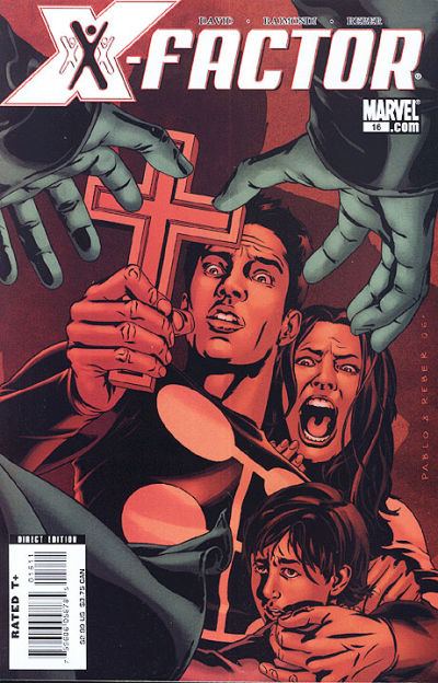 Cover for X-Factor (Marvel, 2006 series) #16