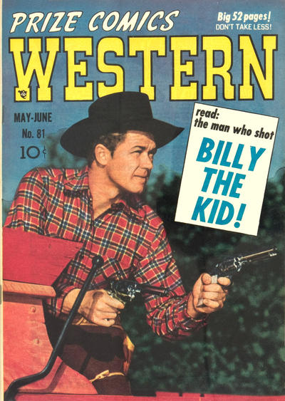 Cover for Prize Comics Western (Prize, 1948 series) #v9#2 (81)