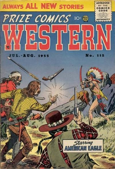 Cover for Prize Comics Western (Prize, 1948 series) #v14#3 (112)