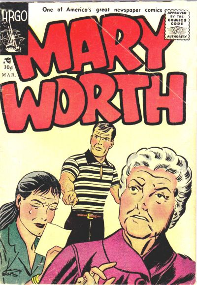 Cover for Mary Worth (Argo Publications, 1956 series) #1