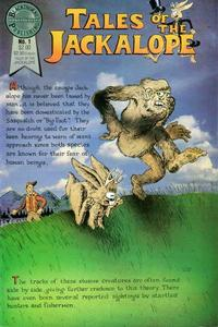 Cover Thumbnail for Tales of the Jackalope (Blackthorne, 1986 series) #1