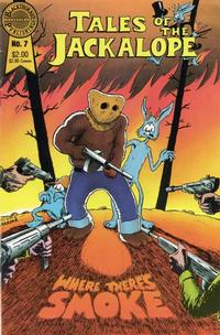 Cover Thumbnail for Tales of the Jackalope (Blackthorne, 1986 series) #7