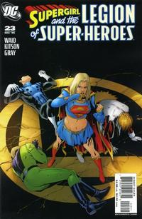 Cover Thumbnail for Supergirl and the Legion of Super-Heroes (DC, 2006 series) #23 [Standard Cover]
