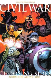 Cover Thumbnail for Civil War: Choosing Sides (Marvel, 2007 series) #1
