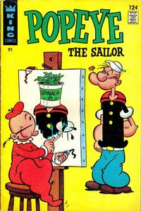 Cover Thumbnail for Popeye (King Features, 1966 series) #91
