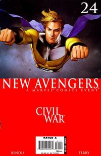 Cover Thumbnail for New Avengers (Marvel, 2005 series) #24 [Direct Edition]