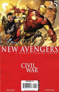 Cover Thumbnail for New Avengers (Marvel, 2005 series) #25