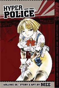 Cover Thumbnail for Hyper Police (Tokyopop, 2005 series) #6