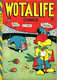 Cover Thumbnail for Wotalife Comics (Fox, 1946 series) #11
