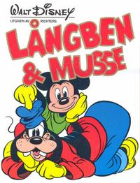 Cover Thumbnail for Långben & Musse (Richters Förlag AB, 1985 series)