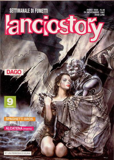 Cover for Lanciostory (Eura Editoriale, 1975 series) #v23#46