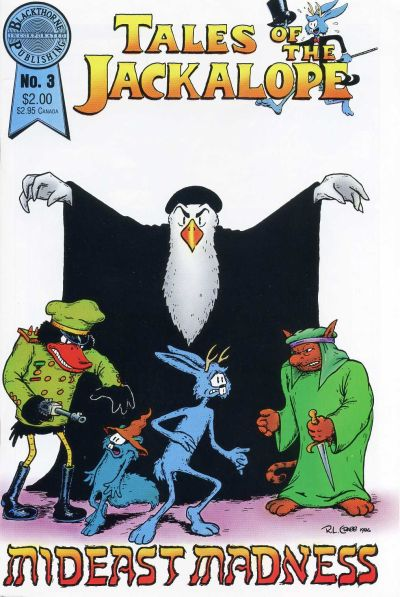 Cover for Tales of the Jackalope (Blackthorne, 1986 series) #3