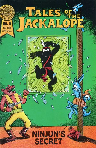 Cover for Tales of the Jackalope (Blackthorne, 1986 series) #5