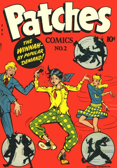 Cover for Patches (Orbit-Wanted, 1945 series) #2