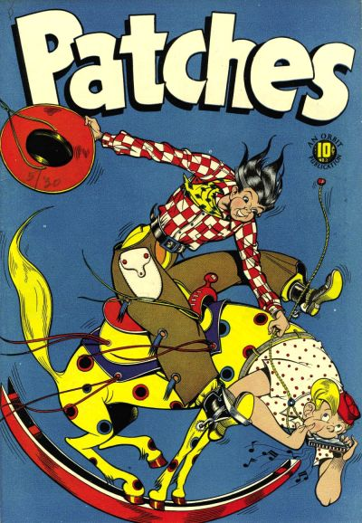 Cover for Patches (Orbit-Wanted, 1945 series) #3
