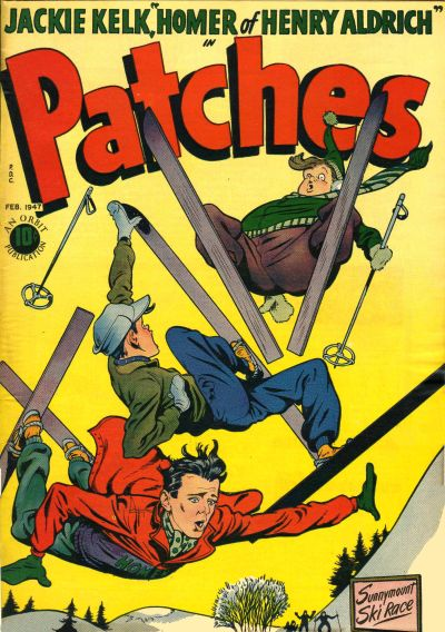 Cover for Patches (Orbit-Wanted, 1945 series) #6