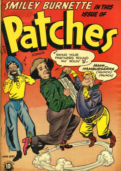 Cover for Patches (Orbit-Wanted, 1945 series) #8