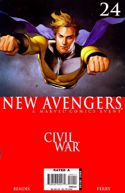 Cover for New Avengers (Marvel, 2005 series) #24 [Direct Edition]