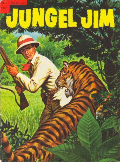 Cover for Jungel Jim (Serieforlaget / Se-Bladene / Stabenfeldt, 1962 series) #1/1962
