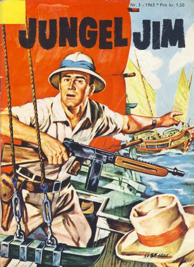 Cover for Jungel Jim (Serieforlaget / Se-Bladene / Stabenfeldt, 1962 series) #3/1963