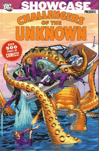Cover for Showcase Presents Challengers of the Unknown (DC, 2006 series) #1