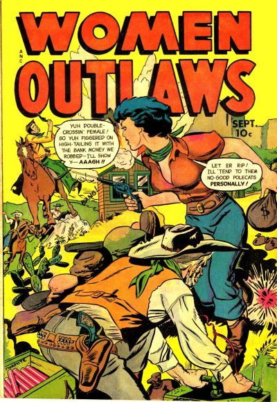 Cover for Women Outlaws (Fox, 1948 series) #8