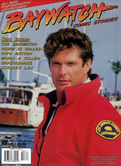 Cover for Baywatch Comic Stories (Acclaim / Valiant, 1996 series) #3