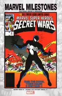 Cover Thumbnail for Marvel Milestones: Venom & Hercules (Marvel, 2005 series)