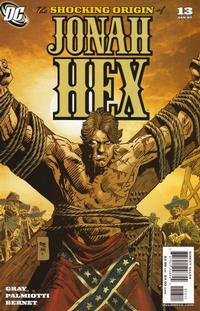 Cover Thumbnail for Jonah Hex (DC, 2006 series) #13