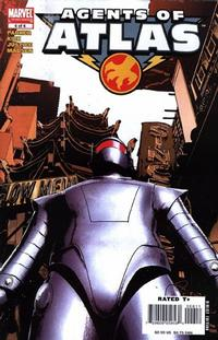 Cover Thumbnail for Agents of Atlas (Marvel, 2006 series) #6