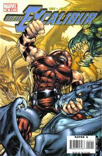 Cover Thumbnail for New Excalibur (Marvel, 2006 series) #12 [Direct Edition]