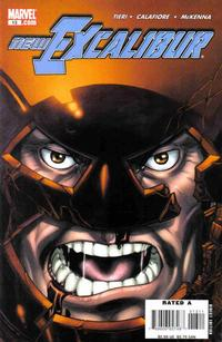 Cover Thumbnail for New Excalibur (Marvel, 2006 series) #13 [Direct Edition]