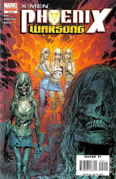 Cover for X-Men: Phoenix - Warsong (Marvel, 2006 series) #2