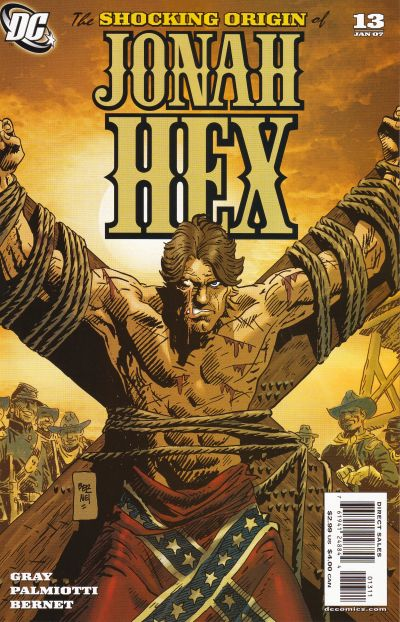 Cover for Jonah Hex (DC, 2006 series) #13